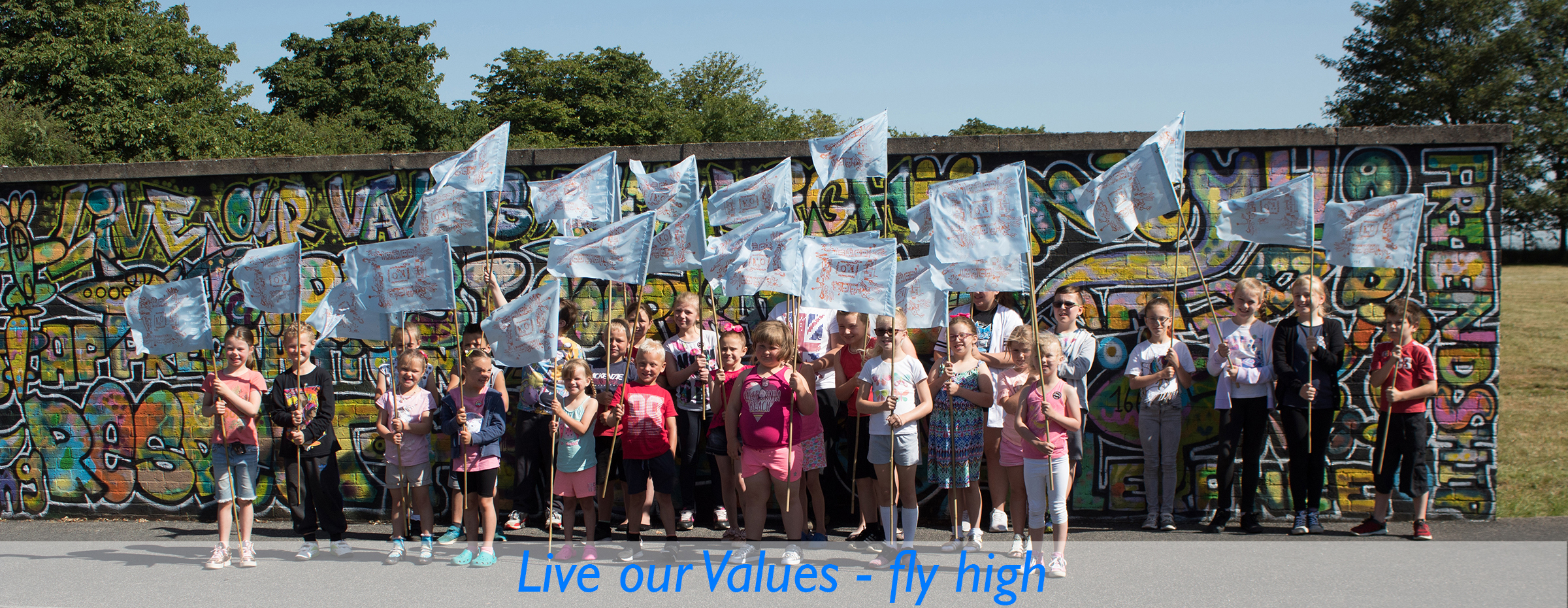 Live our Values - Fly High